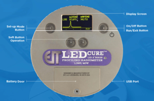 LEDCure Single Band UV LED Measurement